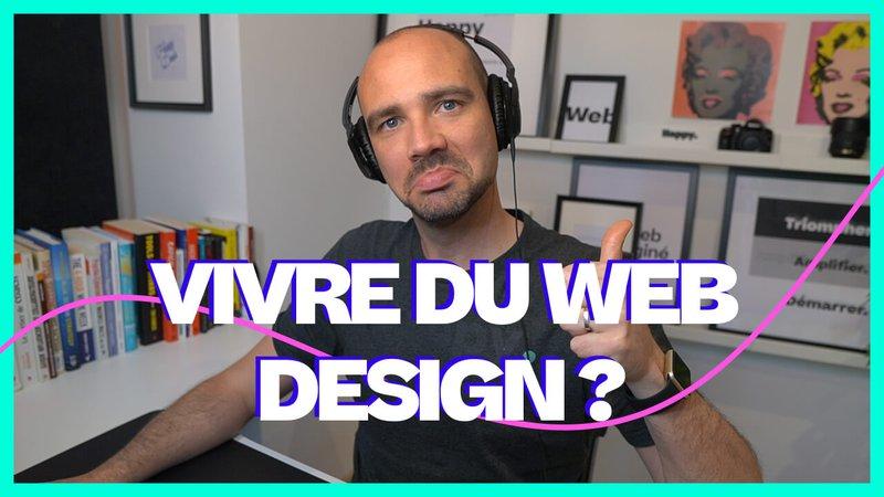 Web design : Peut-on vivre du web design ?