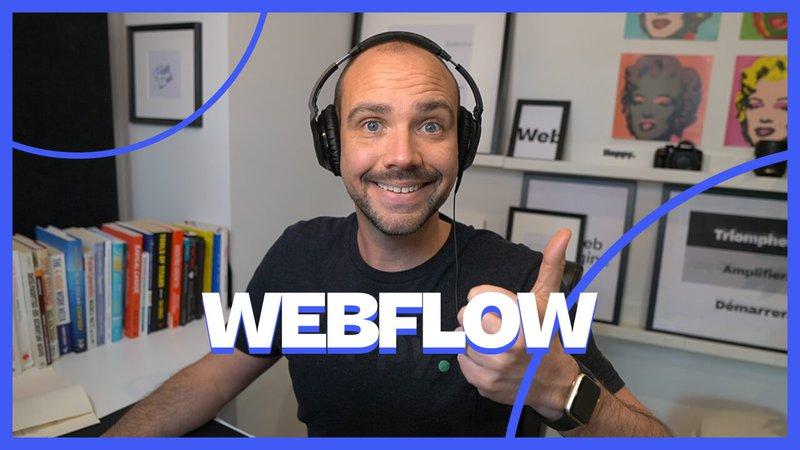 Formation Webflow : Nouvelle formation Webflow en français