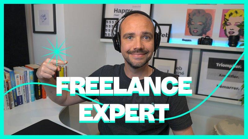 Freelance Expert: Guide en 6 étapes pour devenir freelance expert en webdesign