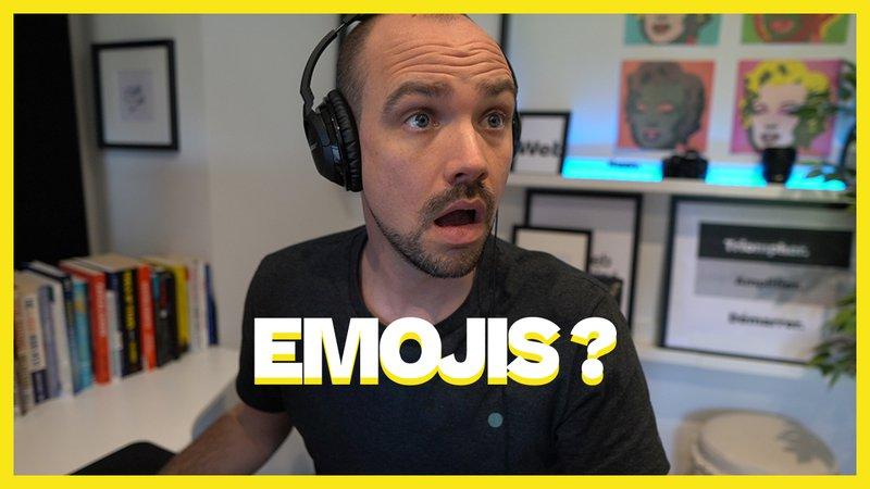 Emojis dans les E-mails & Site Web: Avantage ou inconvénient ?