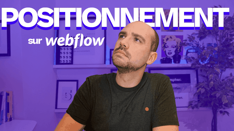Webflow Positioning: click and move elements easily