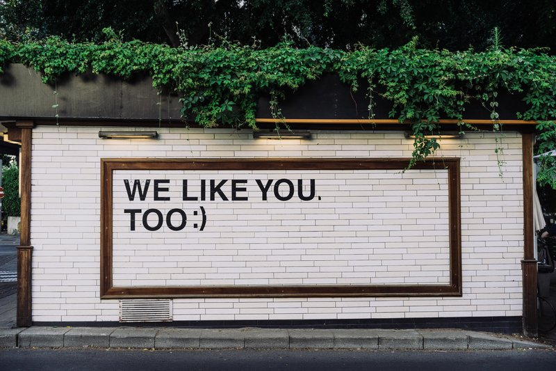 We Like You Too :)