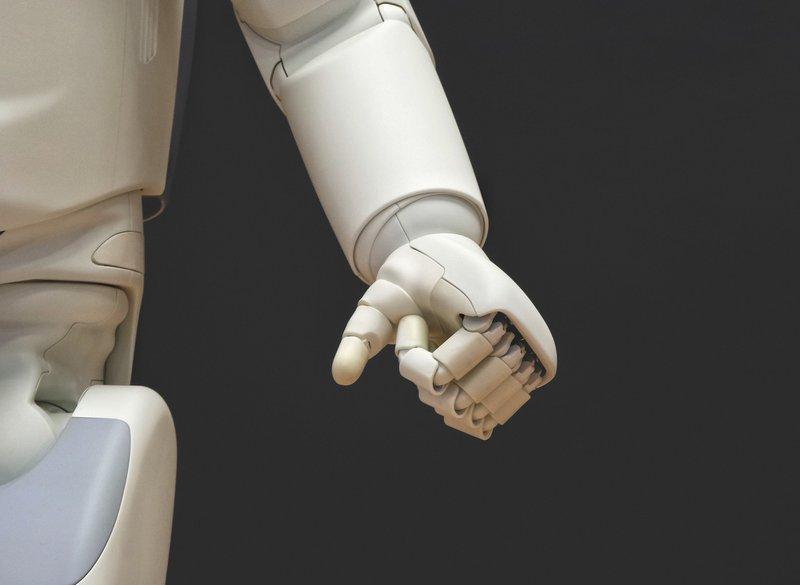 Take My Hand robot tech
