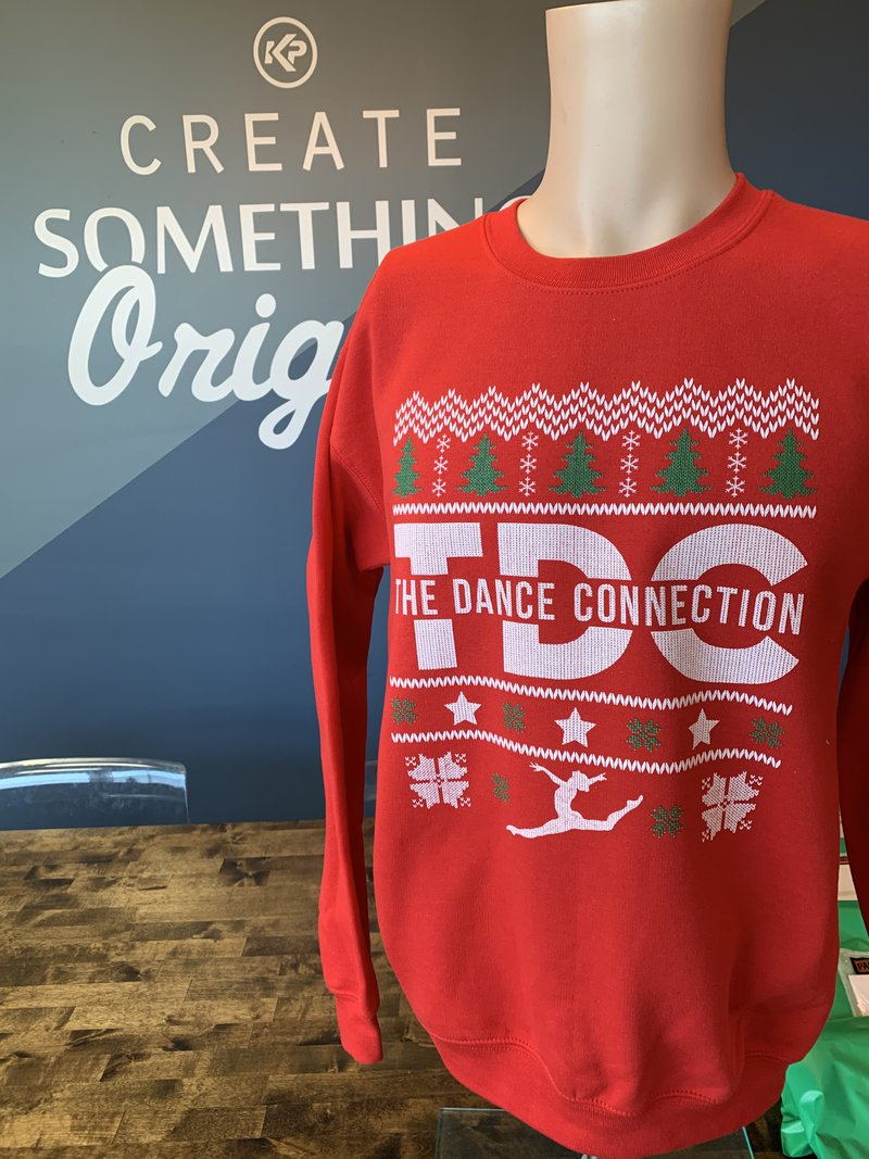 The Dance Connection Holiday Branded Apparel Sweatshirt