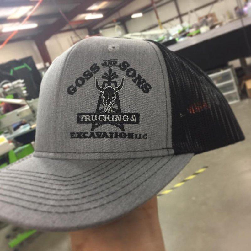 Dark Thread on Gray Hat