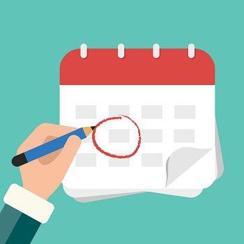 uitstelgedrag, plannen, agenda