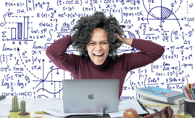 wiskunde studeren slagen