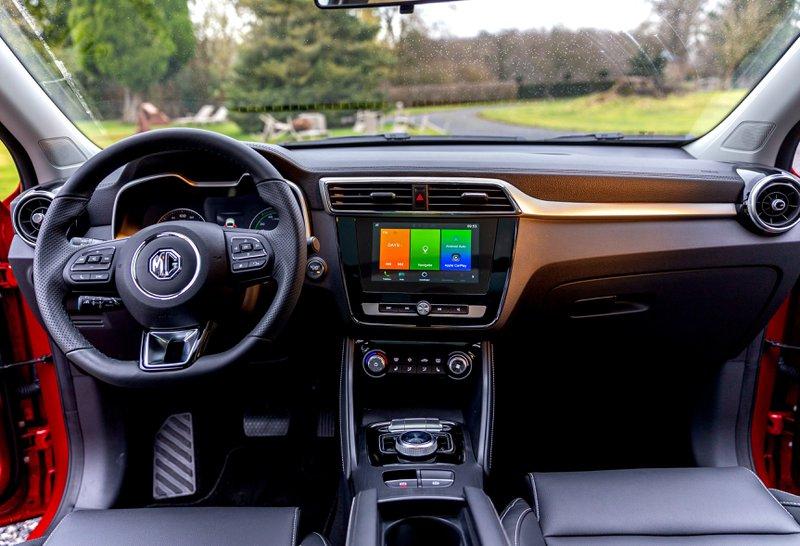 MG ZS EV intérieur