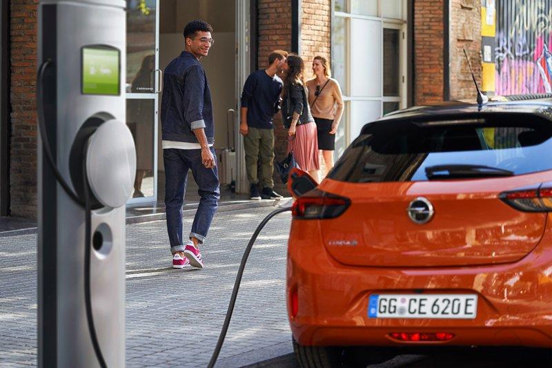 elektrische auto's - laadpunten