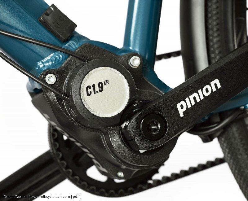 changement de vitesse Pinion