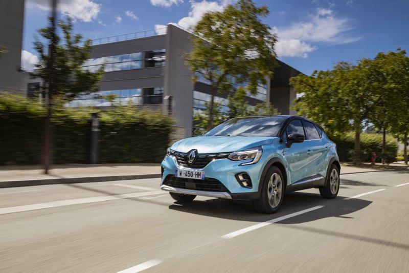 Hybride plug-in Renault Captur E-Tech