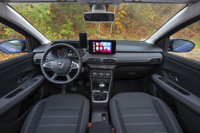 Dacia Sandero intérieur