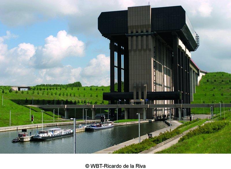 Parc des canaux et châteaux - Ascenseur de Strépy-Thieu