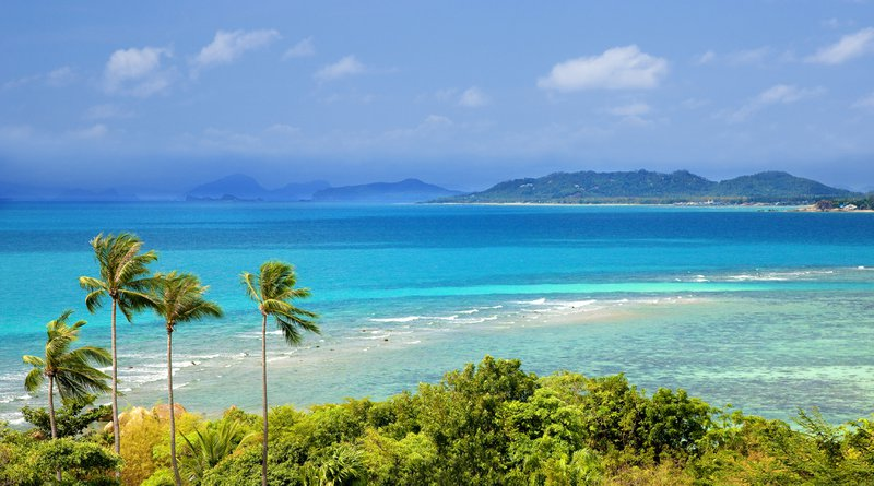Thailand strand blauwe zee