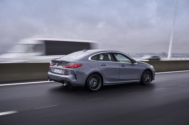 BMW 2 Reeks Gran Coupé - kofferbak