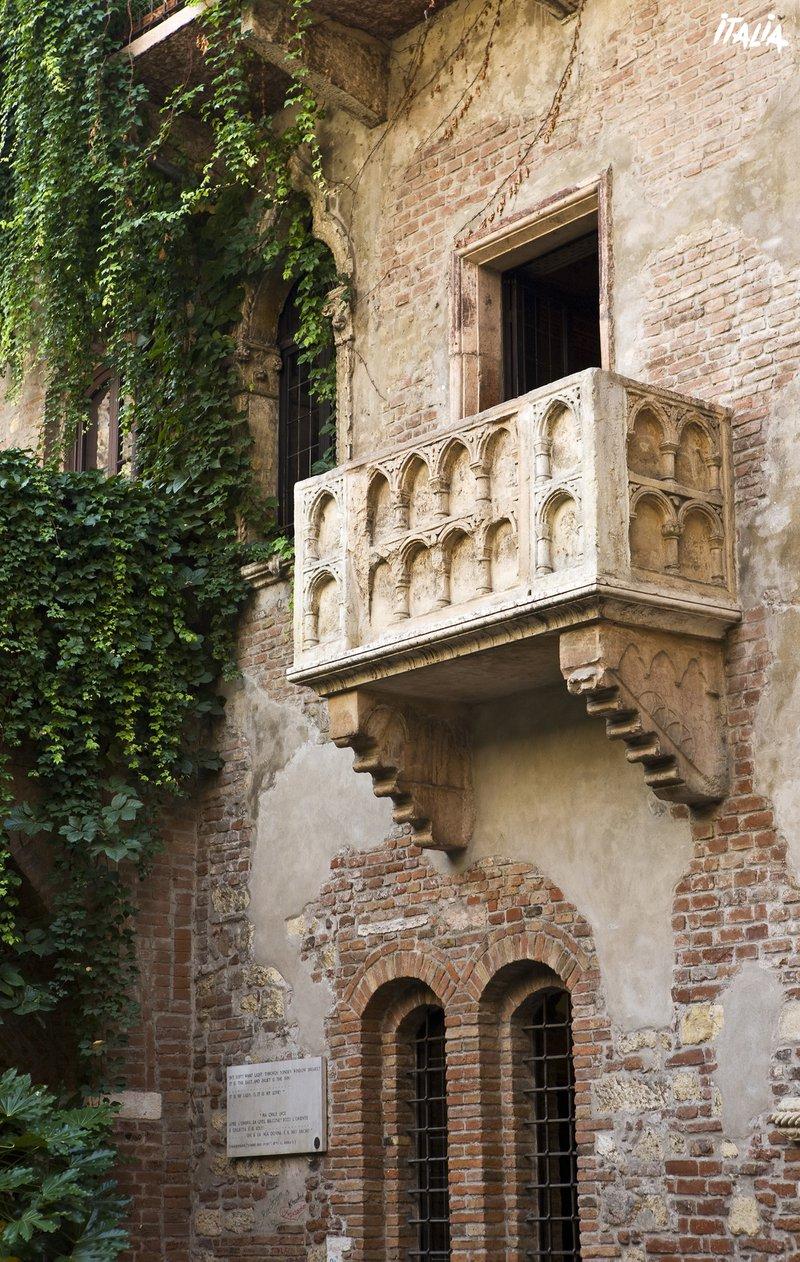 Verona - balkon Romeo & Julia