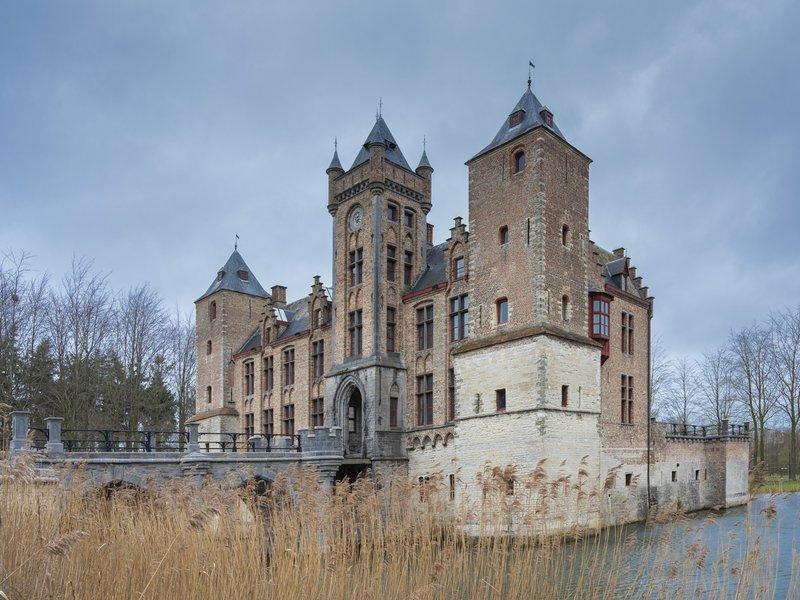 Bruges arrière-pays-Brugse ommeland-Tilleghem château-kasteel