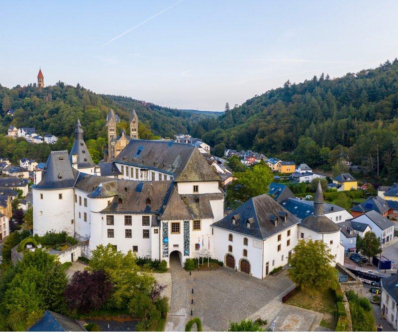 Luxemburg kasteel van Clervaux