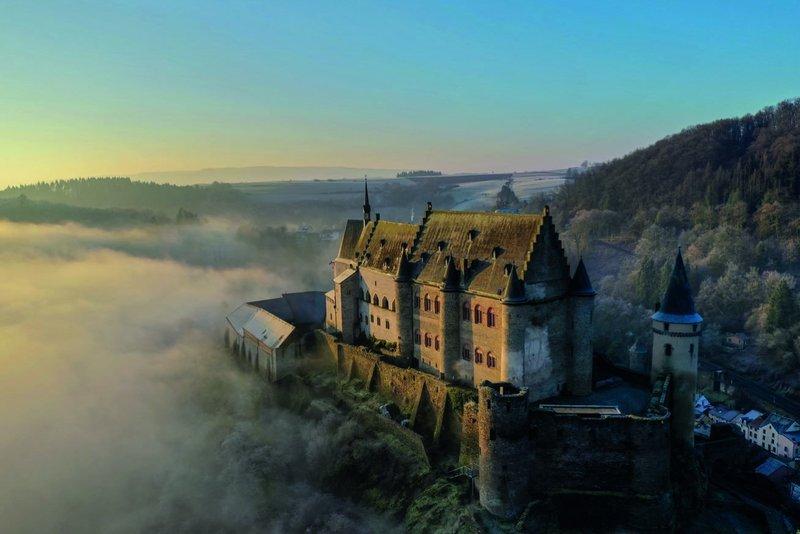 Luxemburg kasteel van Vianden