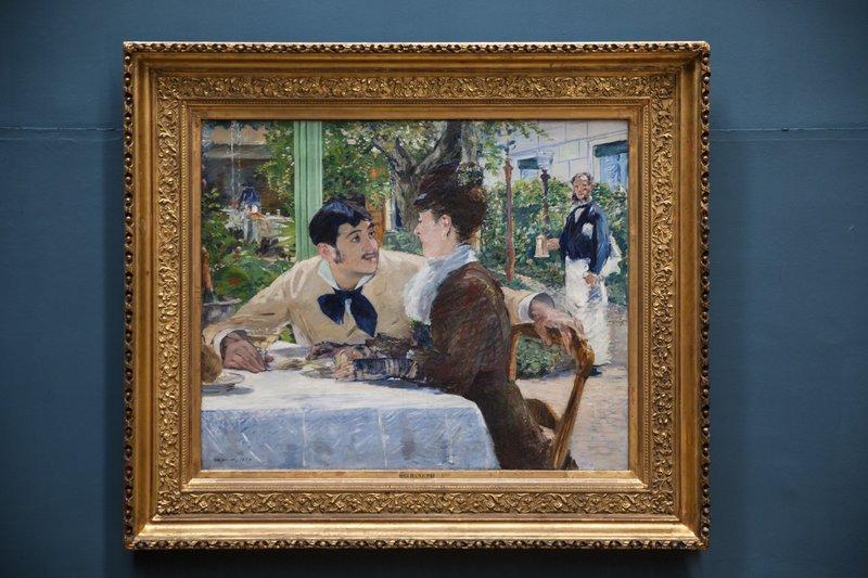 Édouard Manet (1832–1883), Chez Père Lathuille, 1879
