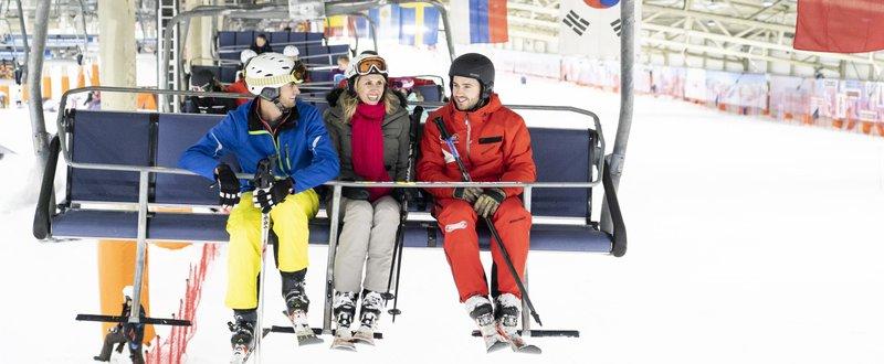 Ski indoor SnowWorld Landgraaf Pays-Bas