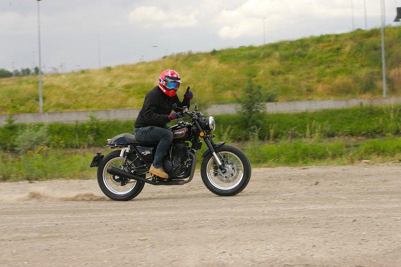 Test Mash Dirt Track 650