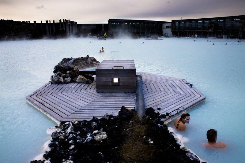Cure thermale Islande