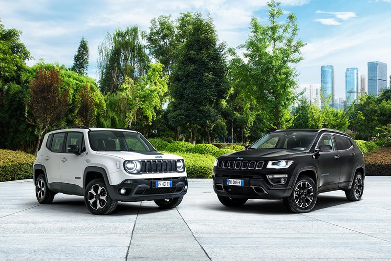 hybride plug-in Jeep Compass 4xe