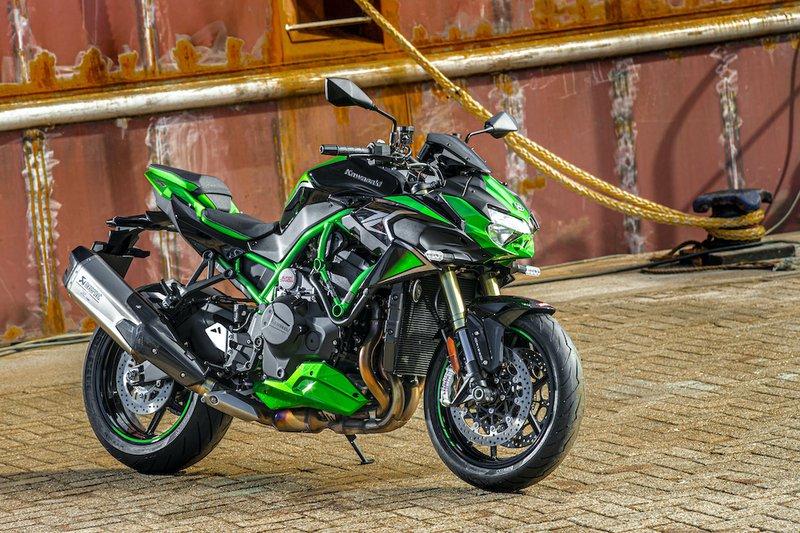 Kawasaki Z H2 SE: un style audacieux