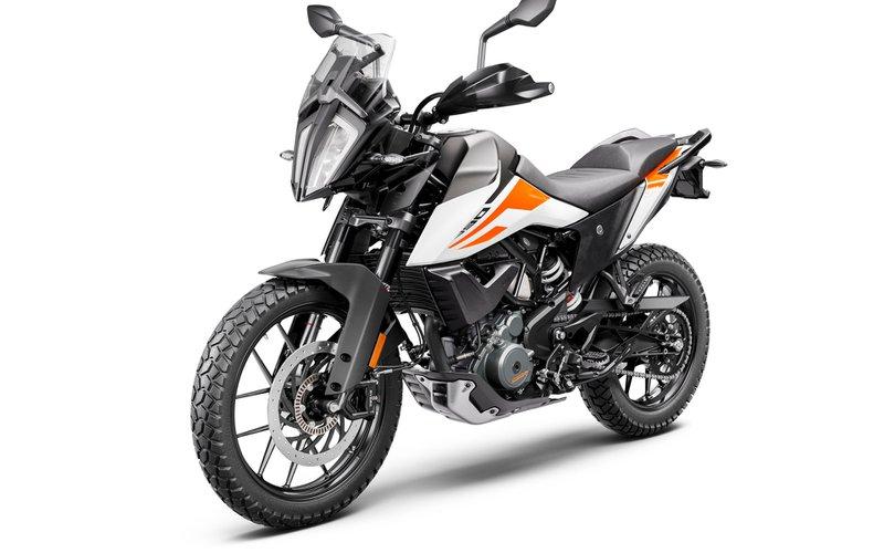 KTM 390 Adventure moto