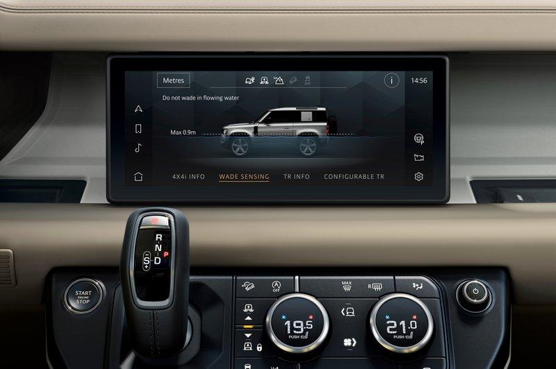 Land Rover Defend équipements