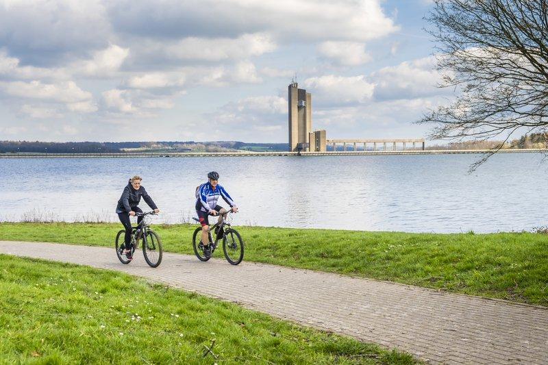 Lacs de l'Eau d'Heure à vélo