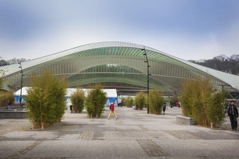 Het HST-station Guillemins, hét pronkstuk van Luik
