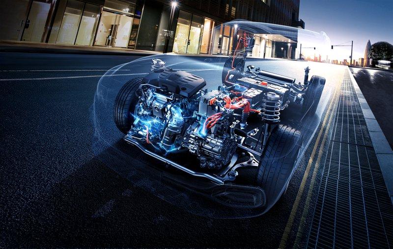 MG EHS SUV hybride plug in