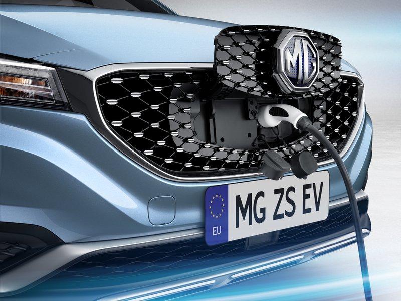 MG ZS EV: oplader