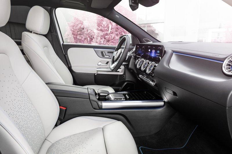 Mercedes EQA équipement