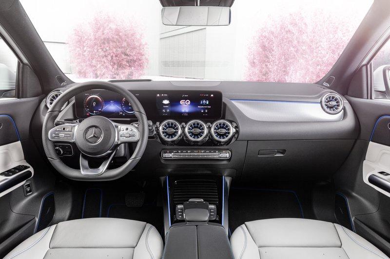 Mercedes EQA intérieur