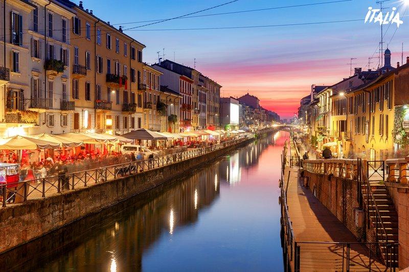 Milan - Canal Naviglio Grande