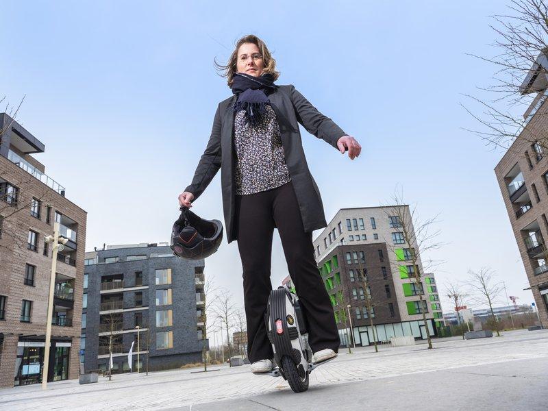 Monoroue mobilité alternative