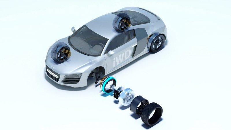 moteur électrique intégré