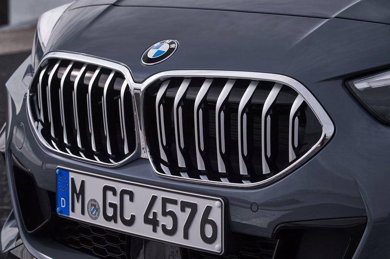 De neusgaten van de BMW 2 Reeks Gran Coupé zijn overgenomen van de 1 Reeks