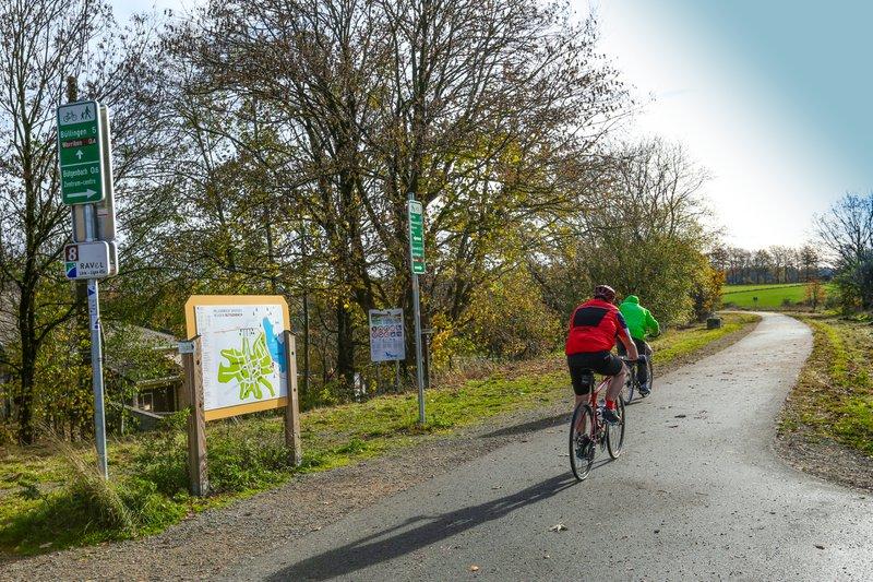 points-nœuds itinéraires vélo Province de Liège