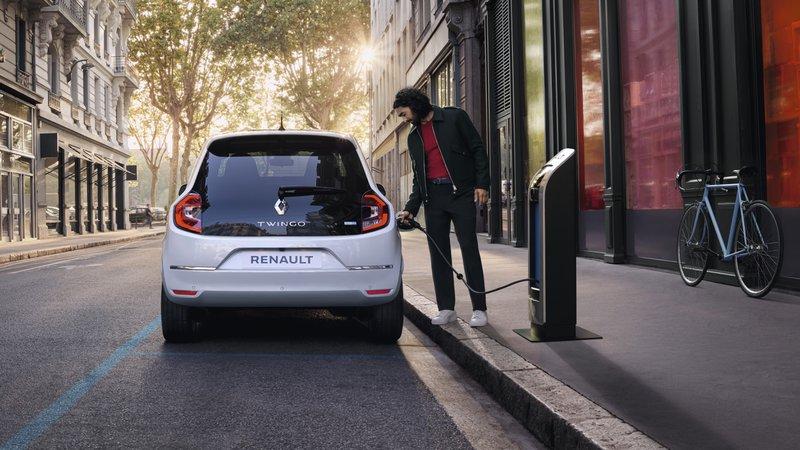 Voiture électrique Renault Twingo E