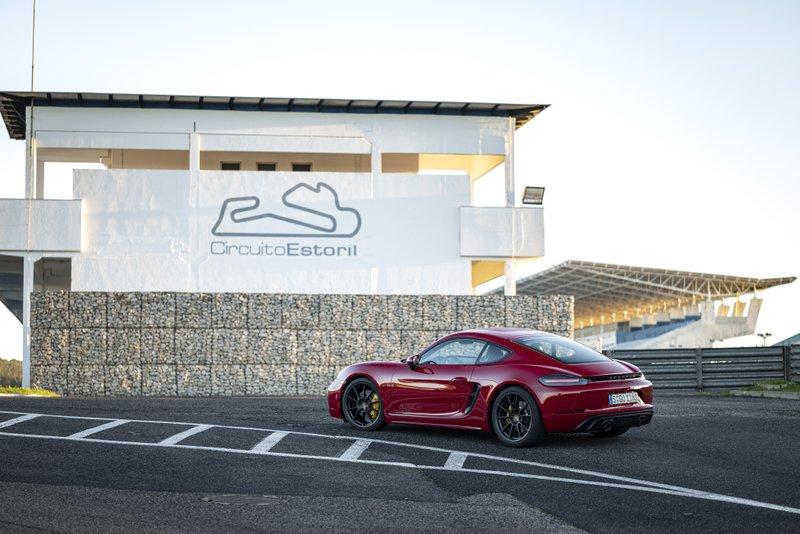 Porsche 718 GTS 4.0 circuit