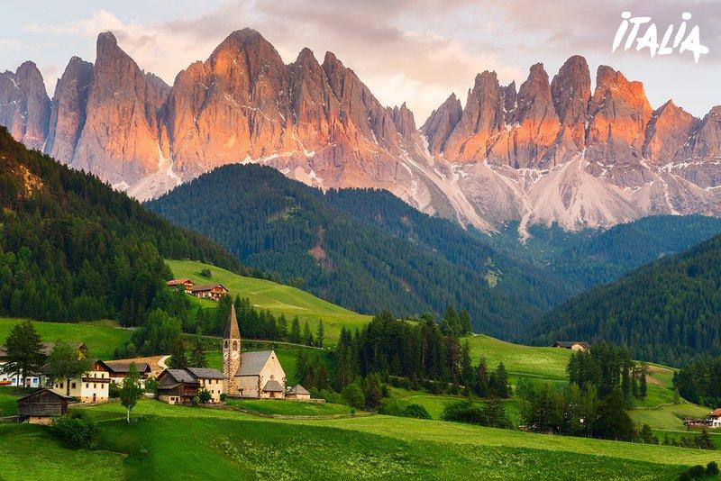 Italie - Dolomites - Santa Maddalena