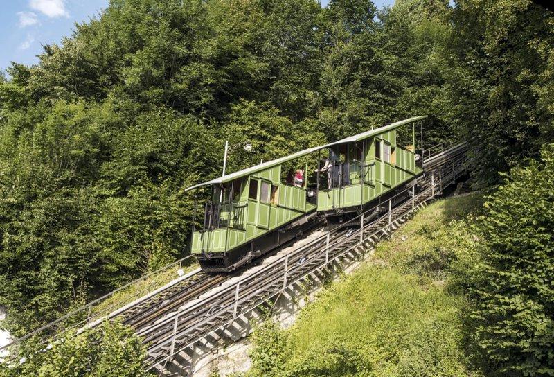 Le 'Funi' de Fribourg en Suisse