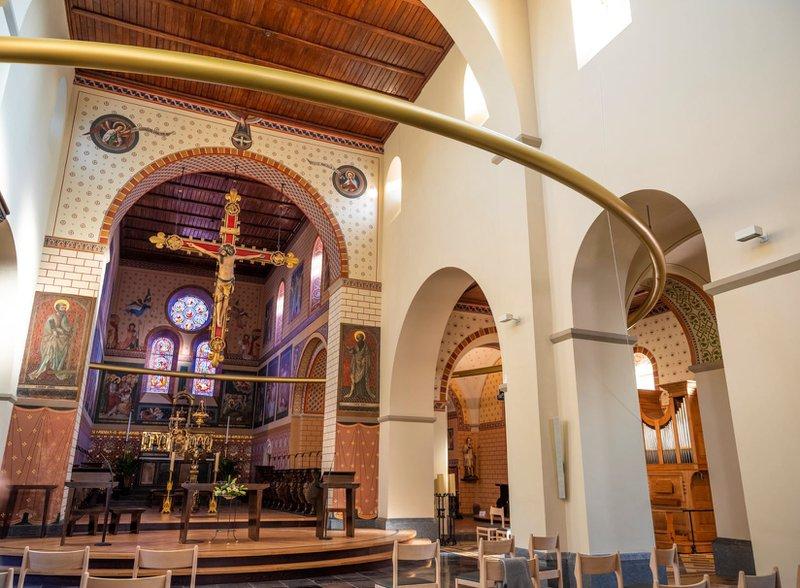 Looz- l'église Saint-Odulphe