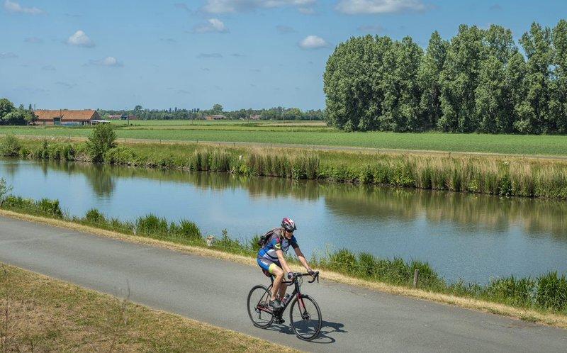 fietslus in Meetjesland