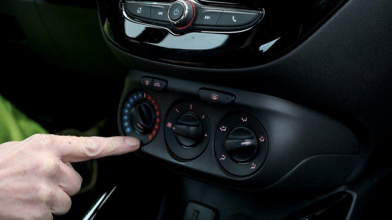 Surchauffe du moteur : mettre le chauffage au maximum