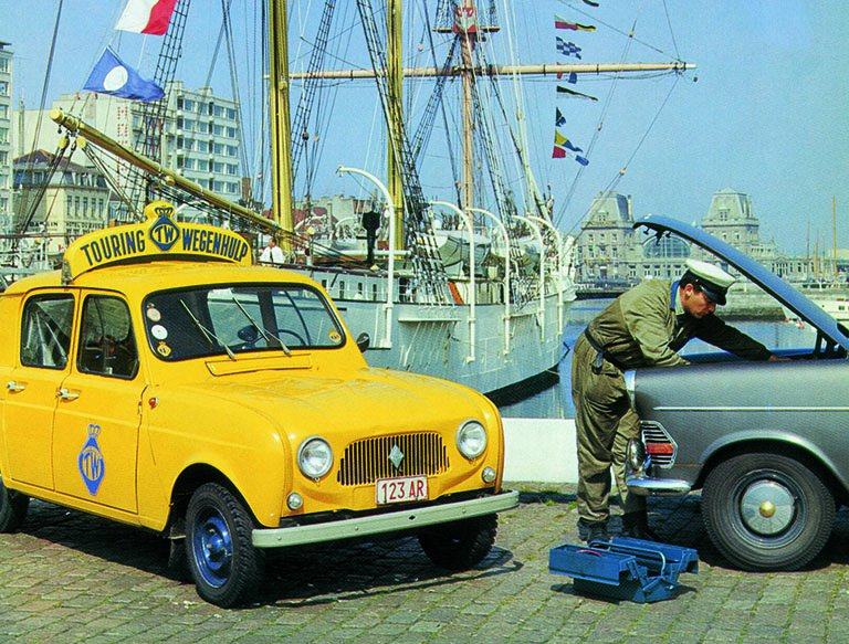 Touring Wegenhulp Renault 4